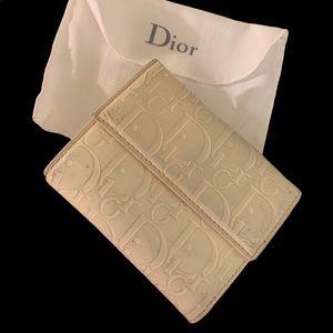 Authentic  Dior logo wallet